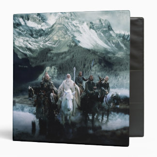 Theoden and the Fellowship Vinyl Binder