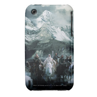Theoden and the Fellowship iPhone 3 Cover