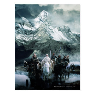 Theoden and the Fellowship Postcard
