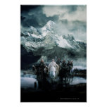 Theoden and the Fellowship Print