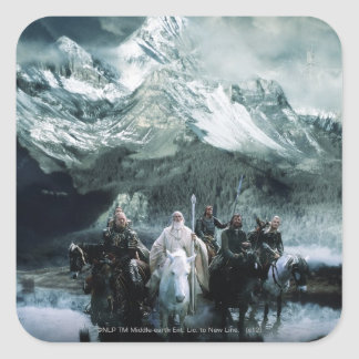Theoden and the Fellowship Stickers