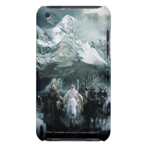 Theoden y la beca barely there iPod fundas