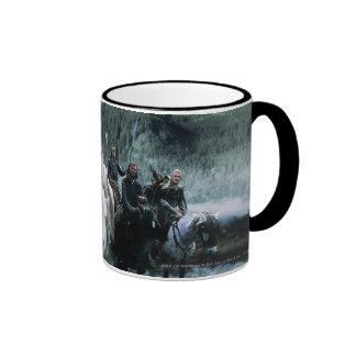 Theoden y la beca taza de dos colores