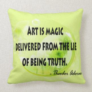 Theodor Adorno Throw Pillow
