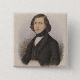 Theodor Fontane, 1843 Button