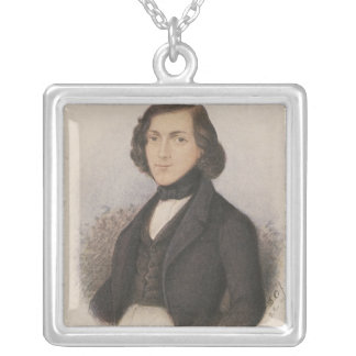 Theodor Fontane, 1843 Silver Plated Necklace