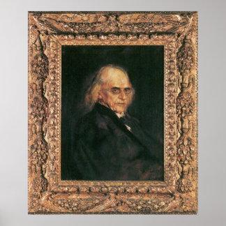Theodor Mommsen Póster