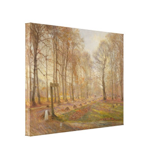 Theodor_Philipsen - Copenhagen Park (Modified) Canvas Print