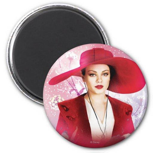 Theodora 2 Inch Round Magnet