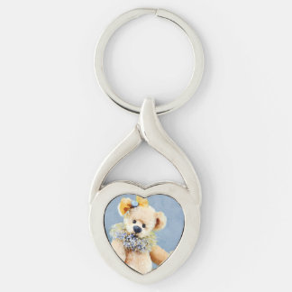Theodora the Teddy Bear Keychain