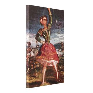Theodore Chasseriau - La Petra Camara Stretched Canvas Prints