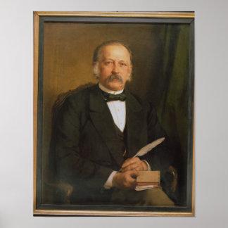 Theodore Fontane, 1883 Poster