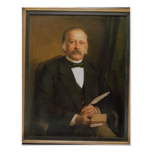 Theodore Fontane, 1883 Póster