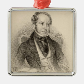 Theodore Hook, Esq., engraved by G. Murray Metal Ornament