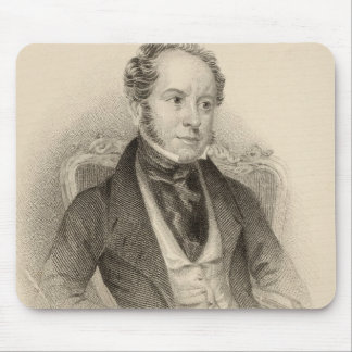 Theodore Hook, Esq., engraved by G. Murray Mouse Pad