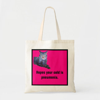 Theodore Hopes Funny Cat Budget Tote