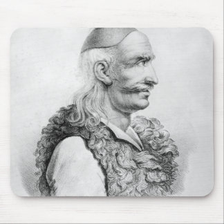 Theodore Kolokotronis  engraved by Alois Mouse Pad