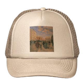 Theodore Robinson, Fifth Avenue at Madison Square Mesh Hat