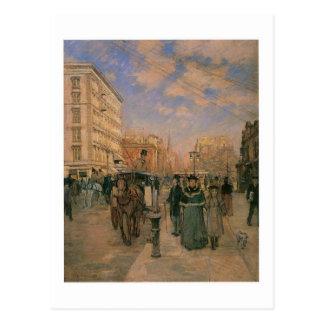 Theodore Robinson, Fifth Avenue at Madison Square Postcard