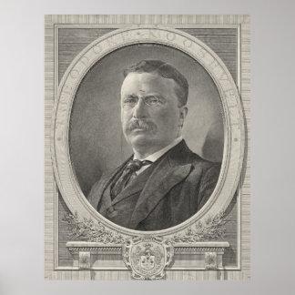 Theodore Roosevelt 1905 Impresiones
