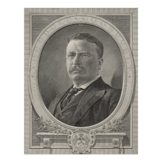 Theodore Roosevelt 1905 Poster