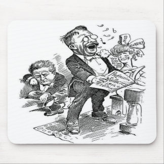 Theodore Roosevelt 1912 Political Cartoon Mouse Pads