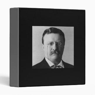 Theodore Roosevelt 26th President 3 Ring Binder