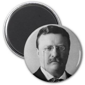Theodore Roosevelt 2 Inch Round Magnet