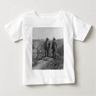 Theodore Roosevelt and John Muir on Glacier Point Baby T-Shirt