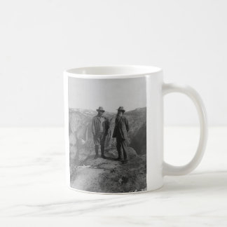 Theodore Roosevelt and John Muir on Glacier Point Classic White Coffee Mug