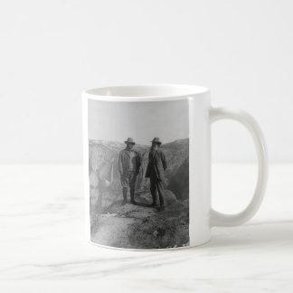 Theodore Roosevelt and John Muir on Glacier Point Coffee Mug