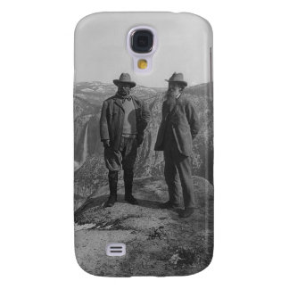 Theodore Roosevelt and John Muir on Glacier Point Galaxy S4 Cover