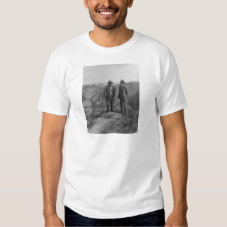Theodore Roosevelt and John Muir on Glacier Point Shirt