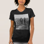 Theodore Roosevelt and John Muir on Glacier Point Tee Shirt