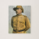 THEODORE ROOSEVELT AS A ROUGH RIDER JIGSAW PUZZLE
