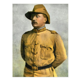 THEODORE ROOSEVELT AS A ROUGH RIDER POST CARDS