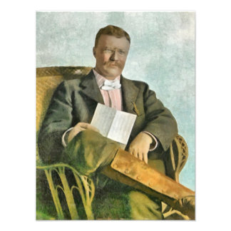 THEODORE ROOSEVELT AT OYSTER BAY ART PHOTO