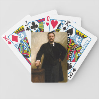 Theodore Roosevelt Bicycle Playing Cards