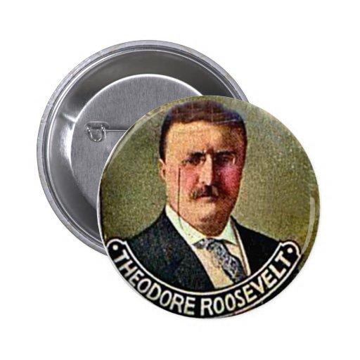 Theodore Roosevelt - Button