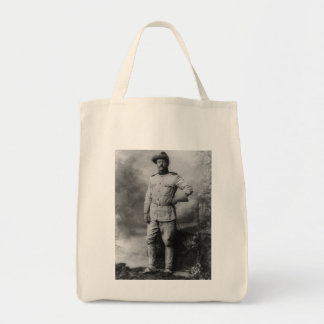 Theodore Roosevelt Canvas Bags