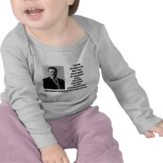 Theodore Roosevelt Doctrine Strenuous Life T Shirt