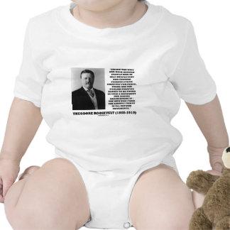 Theodore Roosevelt Fanatics Lunatic Fringe Quote Baby Bodysuits