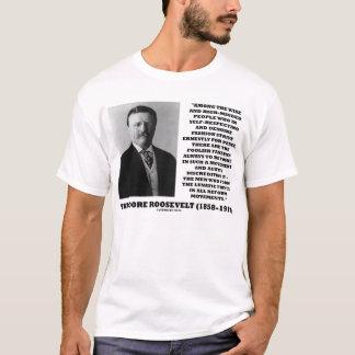 Theodore Roosevelt Foolish Fanatics Lunatic Fringe T-Shirt