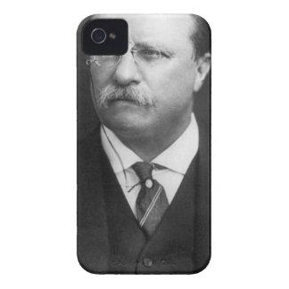 Theodore Roosevelt iPhone 4 Case-Mate Fundas
