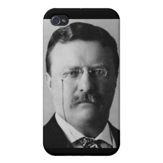 Theodore Roosevelt iPhone 4 Protectores