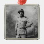 Theodore Roosevelt Metal Ornament