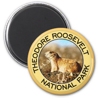 Theodore Roosevelt National Park 2 Inch Round Magnet