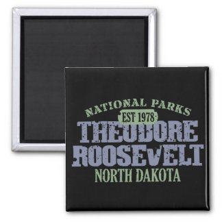 Theodore Roosevelt National Park 2 Inch Square Magnet