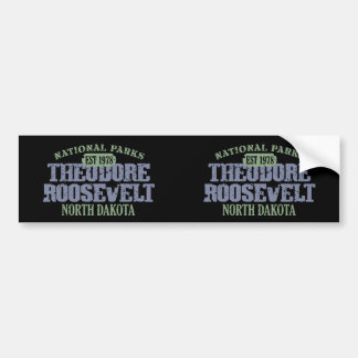 Theodore Roosevelt National Park Bumper Sticker