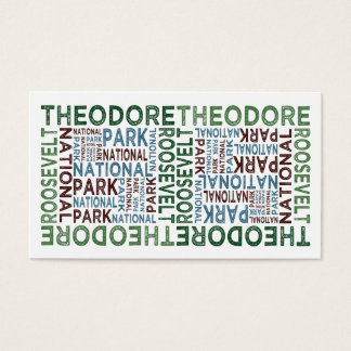Theodore Roosevelt National Park Business Card